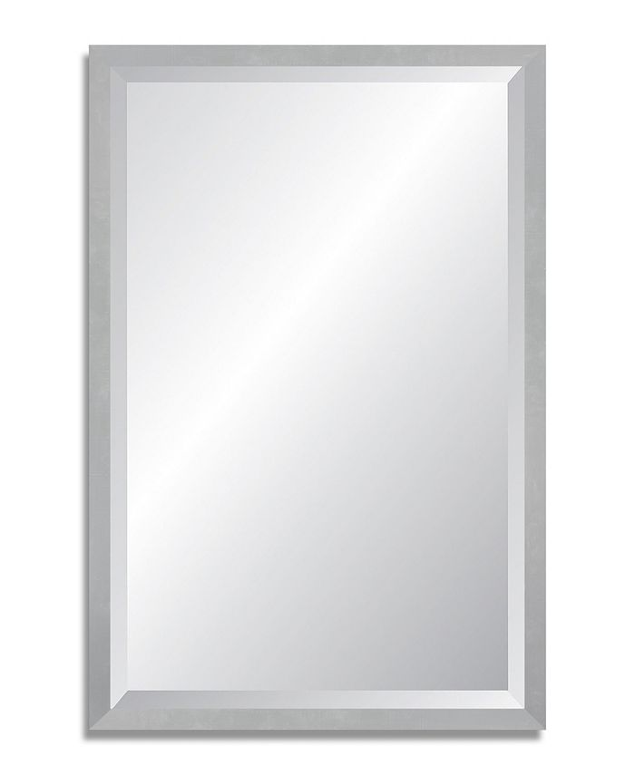 Reveal Frame & Décor - Aircraft Silver Beveled Wall Mirror