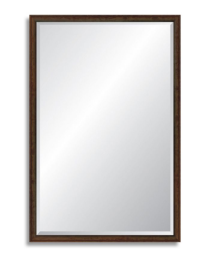 Reveal Frame & Décor - Foundry Bronze Beveled Wall Mirror