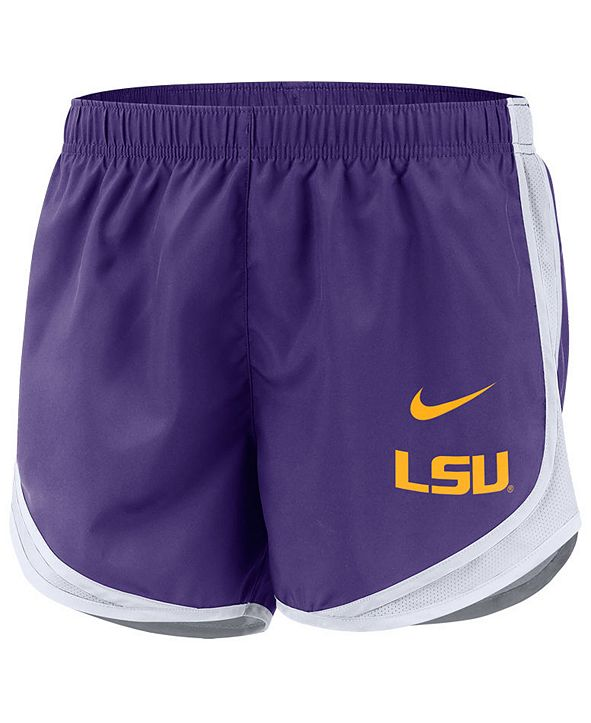 Nike Women's LSU Tigers Tempo Shorts