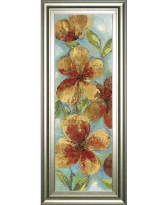 "Bliss I by Asia Jensen Framed Print Wall Art, 18"" x 42"""