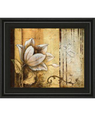 "Exotic on Gold II by Patty Q Framed Print Wall Art, 22"" x 26"""