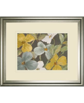 "Garden Party in Gray 2 by Lanie Loreth Framed Print Wall Art, 34"" x 40"""
