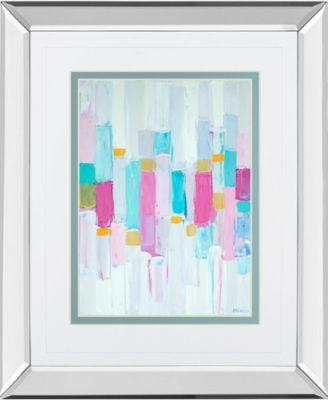 "Cool Rhizome I by Ann Marie Coolick Mirror Framed Print Wall Art, 34"" x 40"""