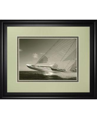 "Sea Spray II by Michael Kahn Framed Print Wall Art, 34"" x 40"""