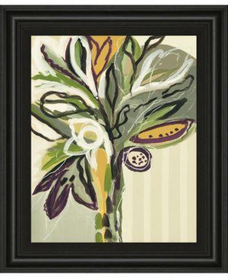 "Serene Floral II by A. Maritz Framed Print Wall Art, 22"" x 26"""