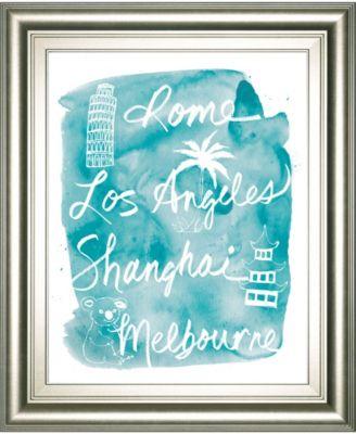 "Sightseeing II by Lottie Fontaine Framed Print Wall Art, 22"" x 26"""