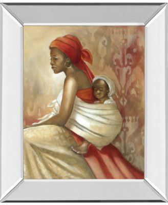 "Beauty of Love II by Carol Robinson Mirror Framed Print Wall Art, 22"" x 26"""