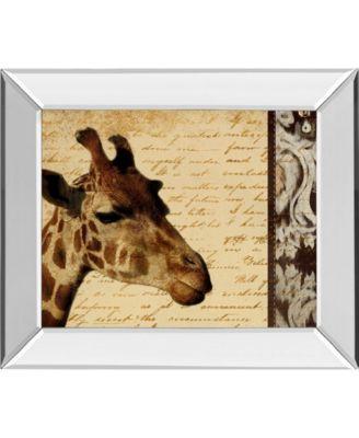 Madagascar Safari II by Patricia Pinto Mirror Framed Print Wall Art, 22