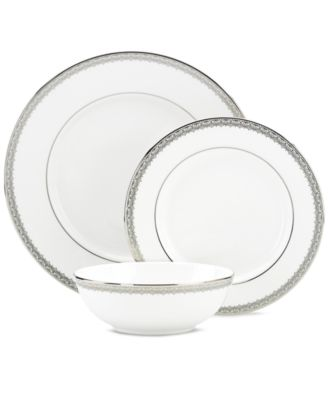 Lenox Lace Couture 3-Piece Place Setting