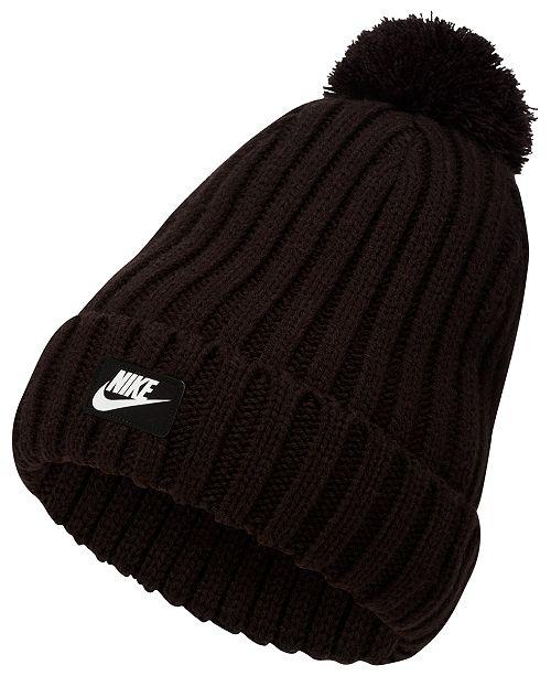 Nike Men's Sportswear Cuffed Pom Pom Beanie & Reviews ...