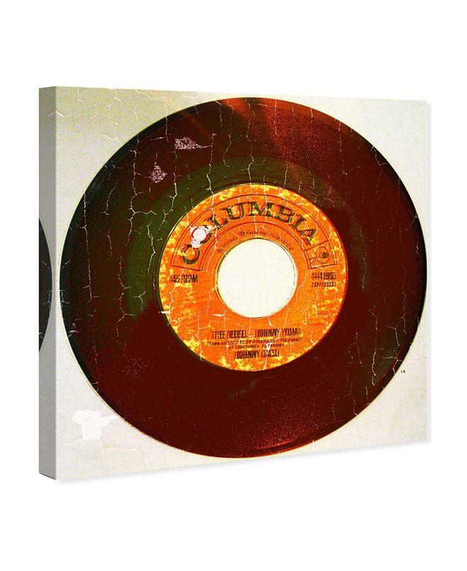 "Oliver Gal Rebel Vinyl Canvas Art, 43"" x 43"""