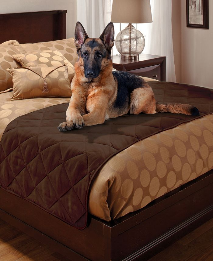 P/Kaufmann Home - Quilted Faux Suede Bed Protector Twin
