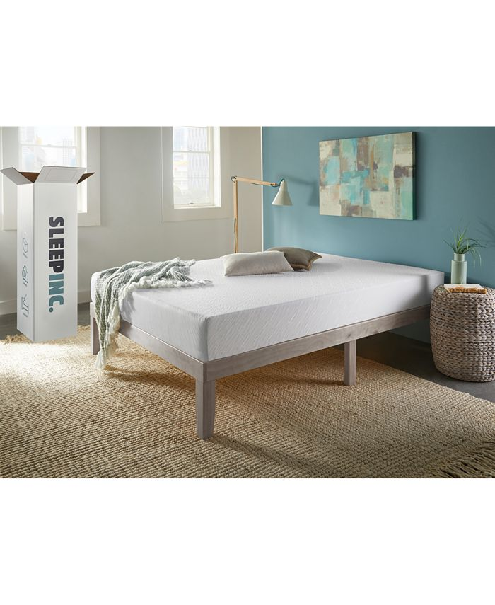 "Corsicana - SleepInc 8"" Support and Comfort Medium Firm Memory Foam Mattress- California King"