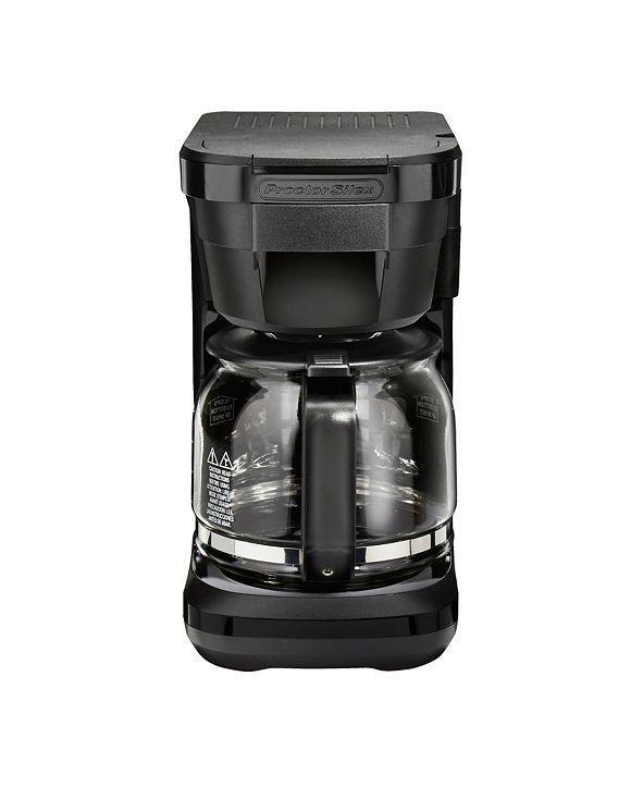 Hamilton Beach Proctor Silex 12 Cup Compact Programmable Coffee Maker