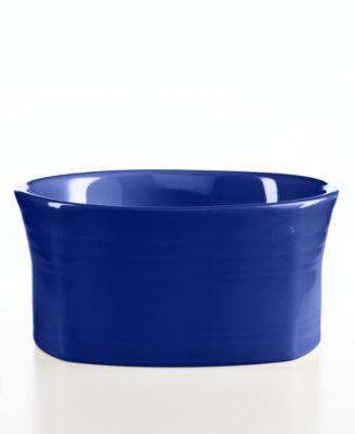 Fiesta Cobalt Square Cereal Bowl