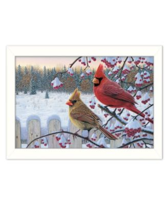 Trendy Décor 4u Trendy Decor 4u Cardinals By Kim Norlien Ready To Hang Framed Print Collection Reviews All Wall Décor Home Decor Macy S