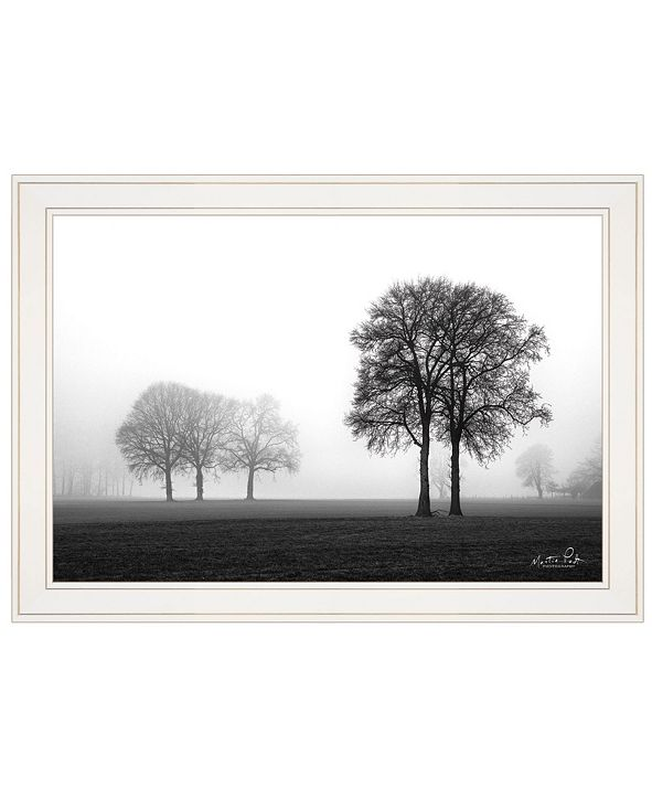 "Trendy Decor 4U Together Again by Martin Podt, Ready to hang Framed print, White Frame, 21"" x 15"""