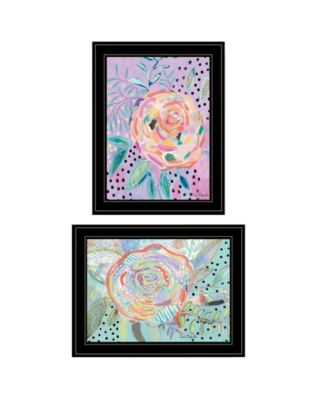 Bloom for Yourself 2-Piece Vignette by Kait Roberts, White Frame, 15