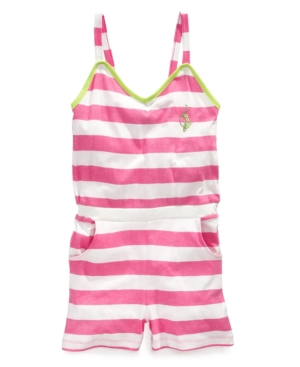 Baby Phat Kids Romper Girls Striped Romper
