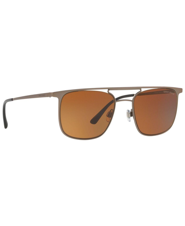 Giorgio Armani Men's Sunglasses, AR6076 & Reviews - Sunglasses by Sunglass Hut - Men - Macy's