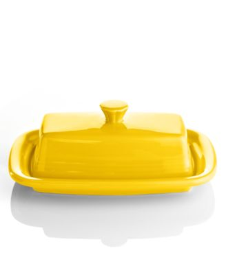 Fiesta Sunflower XL Covered Butter Dish