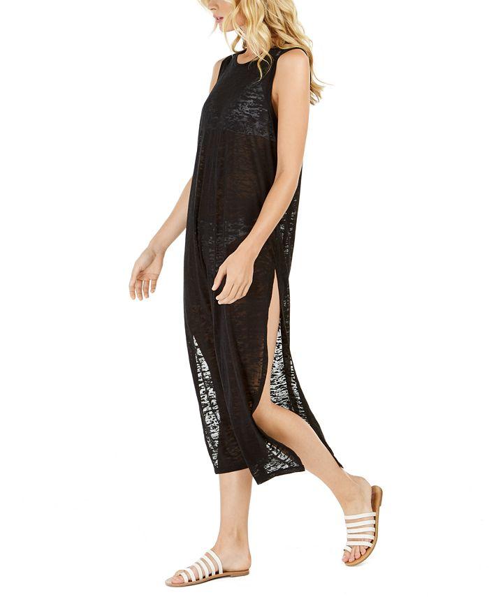 Calvin Klein - Burnout Maxi Dress Swim Cover-Up