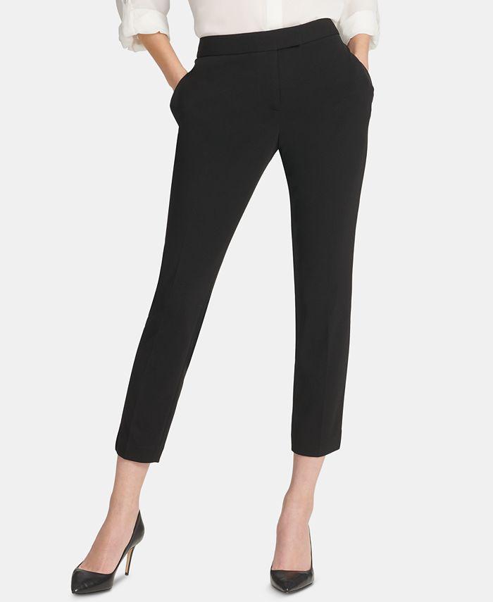 DKNY - Foundation Slim Ankle Pants