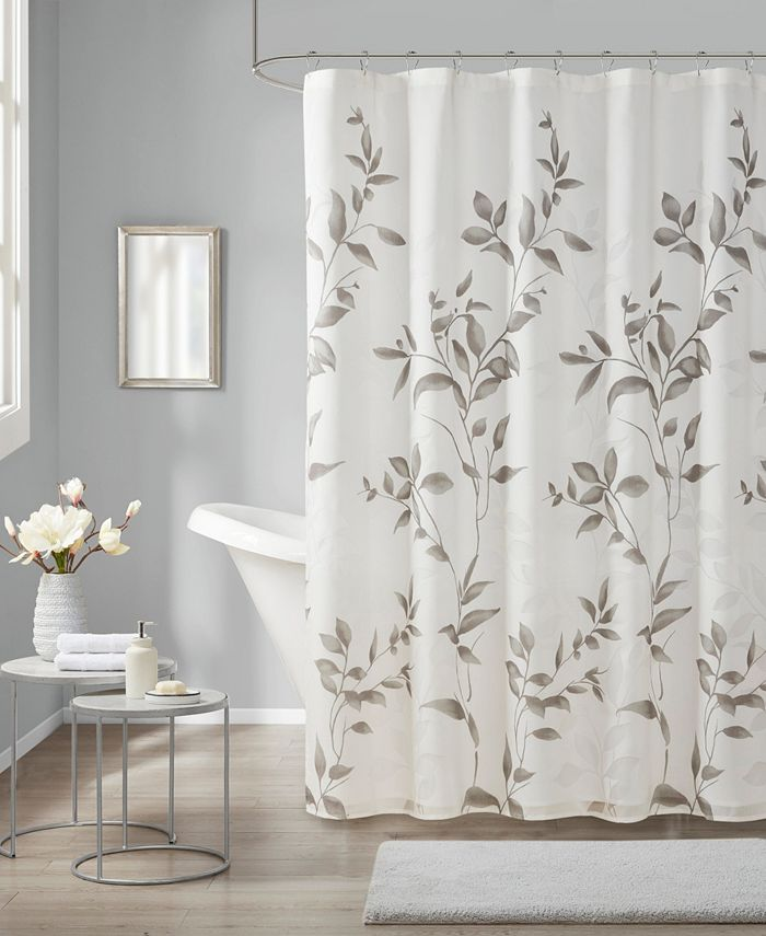 """Madison Park - Cecily 72"""" x 72"""" Printed Shower Curtain"""