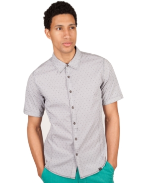 Marc Ecko Cut  Sew Shirt Slim Fit Short Sleeve Cognizance Shirt