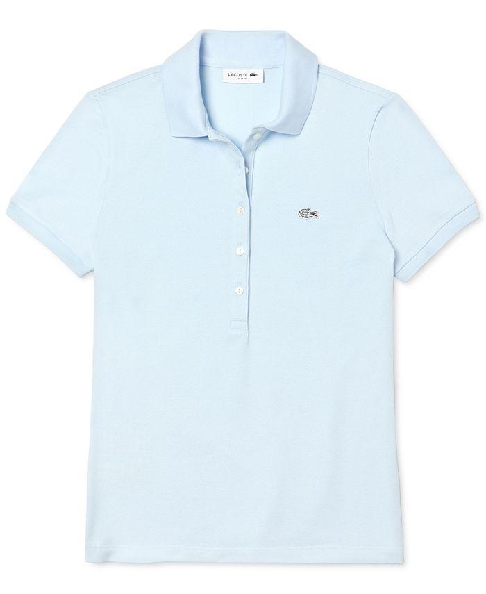 Lacoste - Short-Sleeve Five-Button Logo Polo Shirt