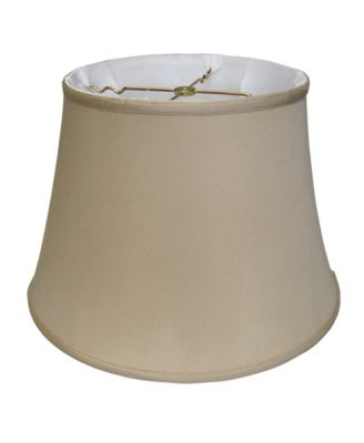 Cloth&Wire Slant Euro Bell Softback Lampshade with Washer Fitter