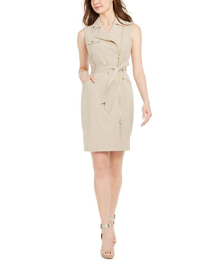 Calvin Klein - Moto Dress