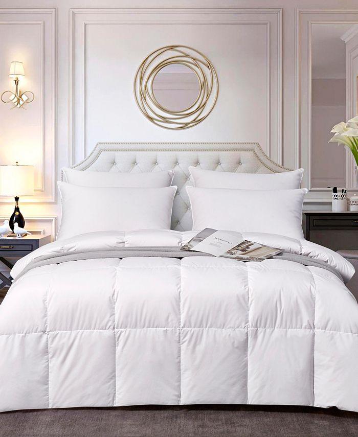Elle Decor - All Season White Down Fiber Comforter Full/Queen
