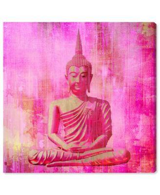 Buddha Pink Canvas Art, 16