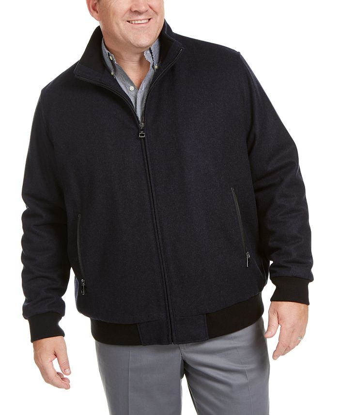 Calvin Klein - Men's Big & Tall Bomber Jacket