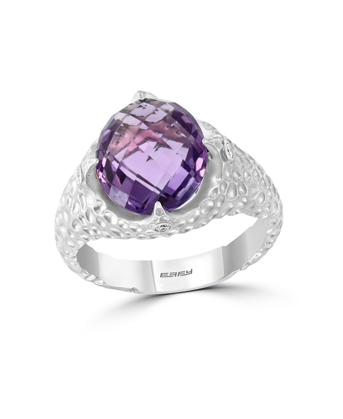 EFFY Collection - Amethyst (4-5/8 ct. t.w.) Ring in Sterling Silver