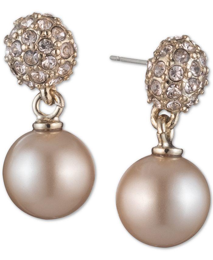Givenchy - Pearl Fireball Drop Earrings