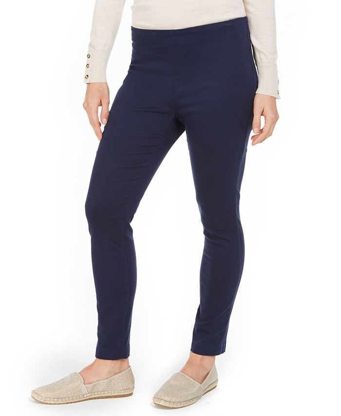 Charter Club - Petite Chelsea Stretch Twill Cropped Pants