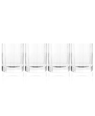 Luigi Bormioli Glassware, Set of 4 Bach Double Old-Fashioned Glasses