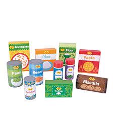 Bigjigs Toys Wooden Cupboard Groceries