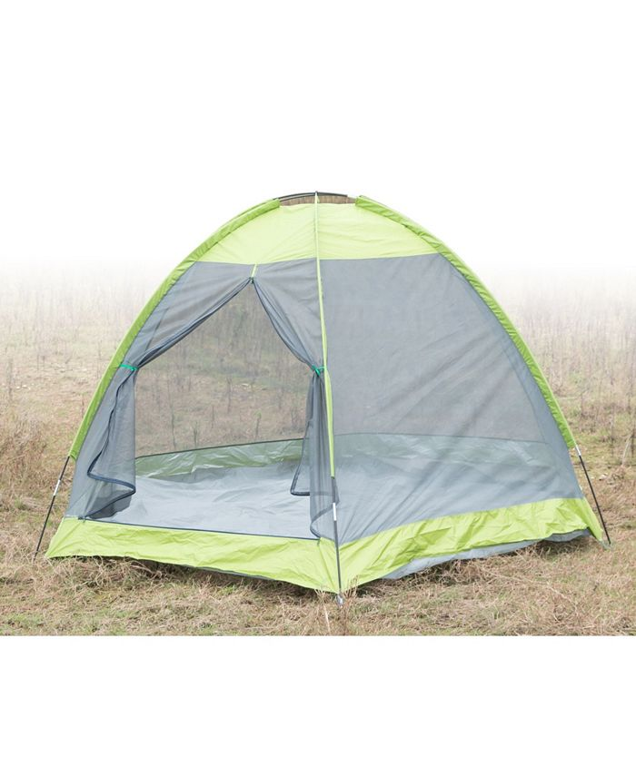 Playberg - Camping Folding Tent with Screen Exterior