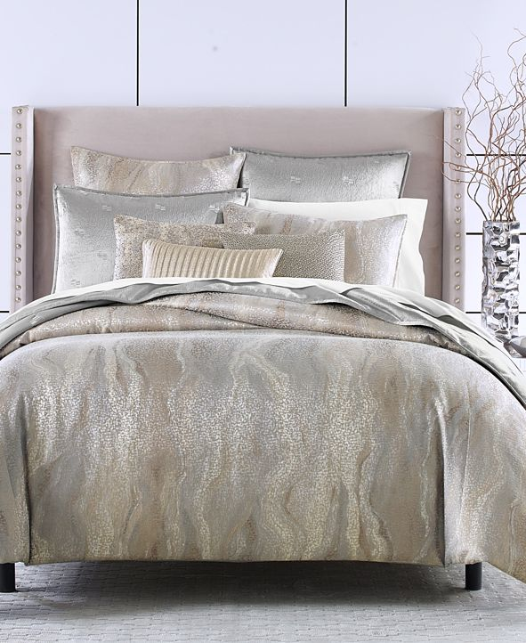 Hotel Collection Terra King Duvet Cover, Created for Macy's