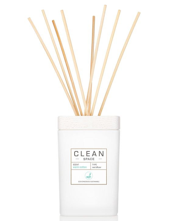 CLEAN Fragrance Warm Cotton Diffuser, 6-oz.