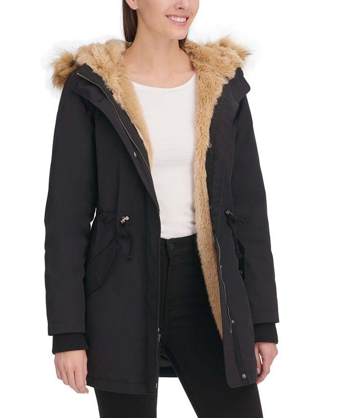 Levi's - Arctic Cloth Faux-Fur-Trim Parka