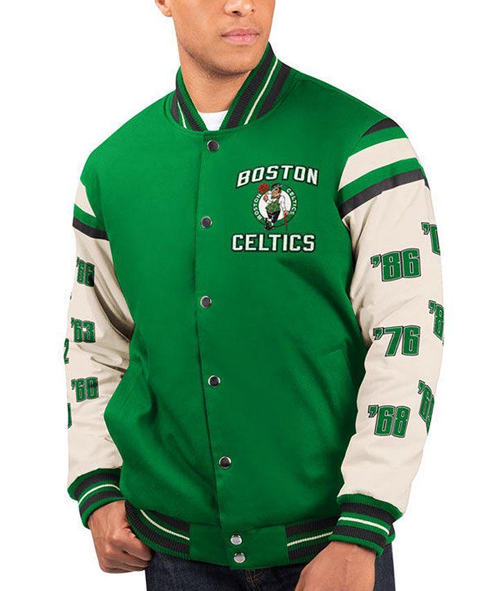 G-III Sports - Men's Victory Formation Commemorative Varsity Jacket