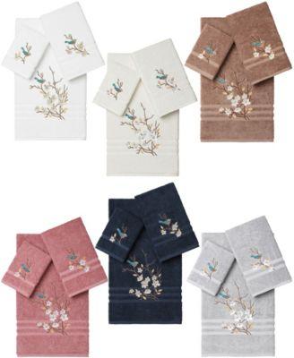 Springtime 2-Pc. Embellished Washcloth Set