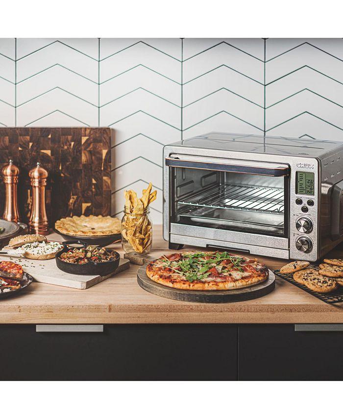 Crux - CRUX 6 Slice Digital Air Fryer/Toaster Oven