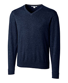 Cutter and Buck Men's Big and Tall Lakemont V-Neck Sweater