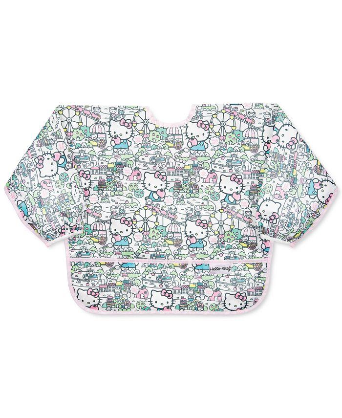 Bumkins - Hello Kitty-Print Waterproof Sleeved Bib