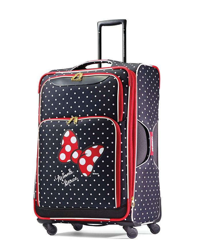 American Tourister - Minnie Mouse Red Bow 28-Inch Spinner